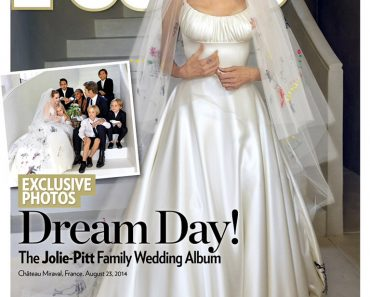 Brad Pitt and Angelina Jolie Wedding Pictures Revealed