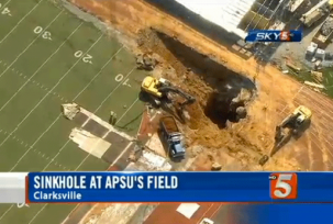 sinkhole austin peay 303x204 How Are Sinkholes Formed?