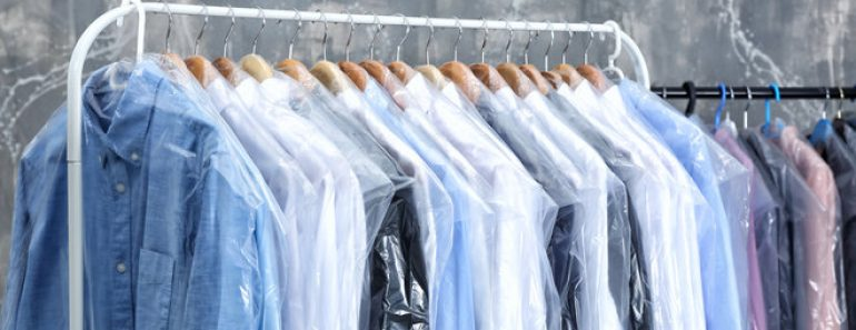 How does dry cleaning work